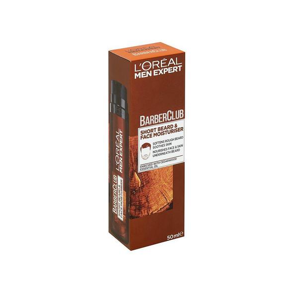 L'Oréal hydratačná starostlivosť pre krátke fúzy a tvár 50 ml