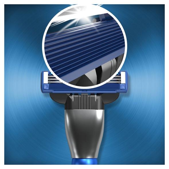 Gillette Mach3 Turbo 3D Motion holiaci strojček + 4 ks hlavic