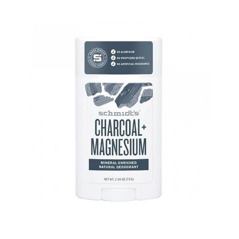Schmidt's Charcoal + Magnesium tuhý dezodorant 58 ml