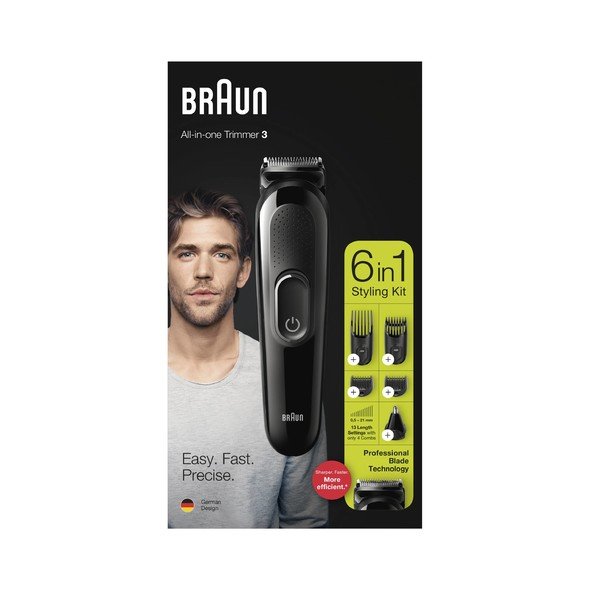 Braun MGK3220 viacúčelový zastrihávač