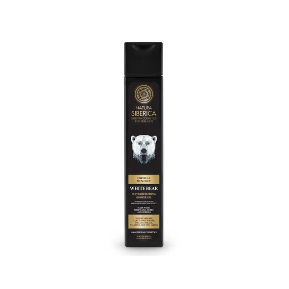 Natura Siberica For Men White Bear sprchový gél 250 ml