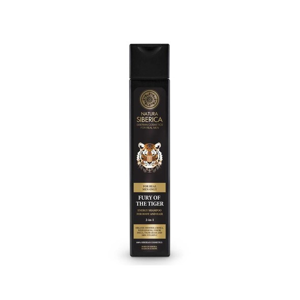Natura Siberica For Men Fury Of The Tiger sprchový gél a šampón 250 ml