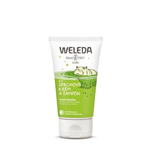 Weleda Kid Lime sprchový krém a šampón 150 ml