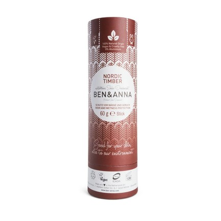 Ben & Anna Nordic Timber tuhý dezodorant 60 g