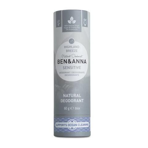 Ben & Anna Sensitive Highland Breeze tuhý dezodorant 60 g
