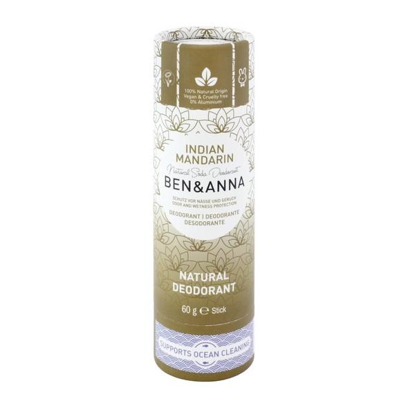 Ben & Anna Indian Mandarine tuhý dezodorant 60 g