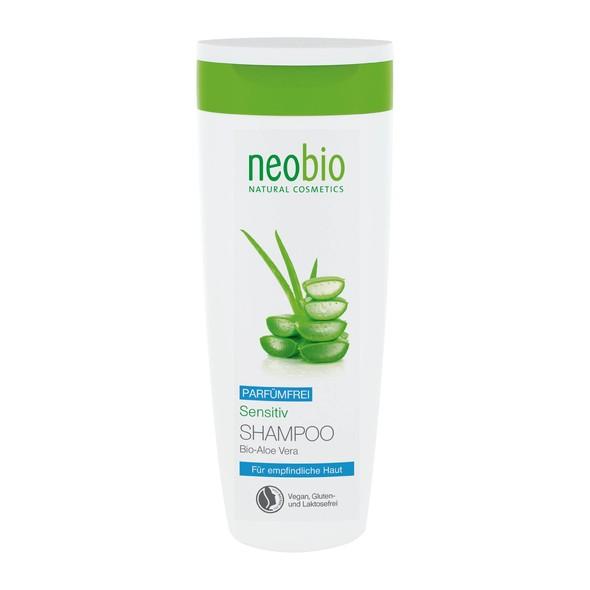 Neobio Shampoo Sensitive šampón na vlasy 250 ml