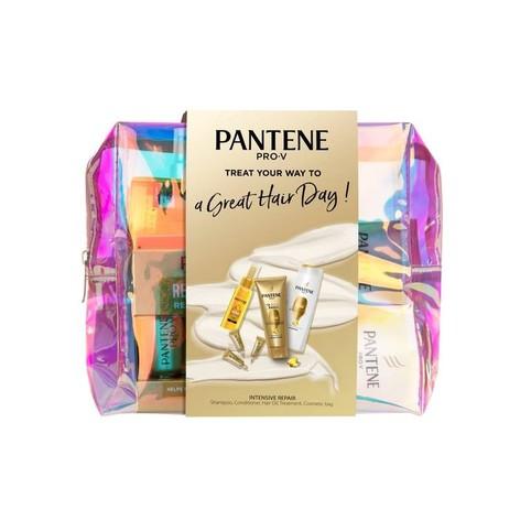 Pantene Golden Cosmetic Bag Xmas Pack darčeková sada