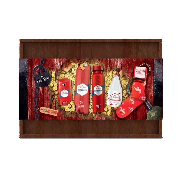 Old Spice WhiteWater Wooden Box darčeková sada