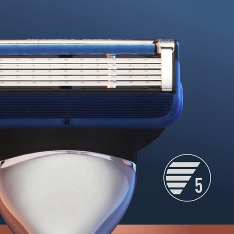 King C. Gillette Razor Blades náhradné hlavice 3 ks