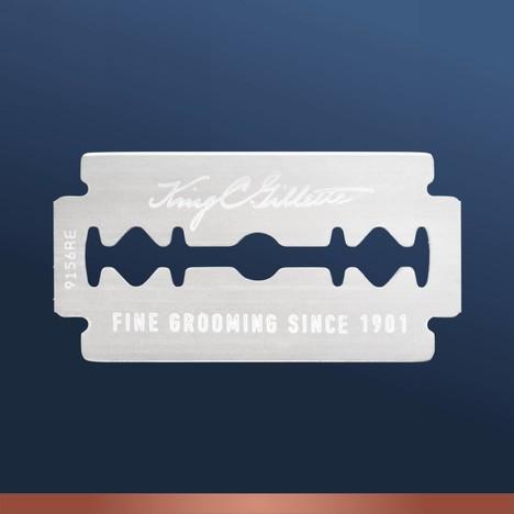 King C. Gillette Double Edge Razor Blades náhradné žiletky 10 ks
