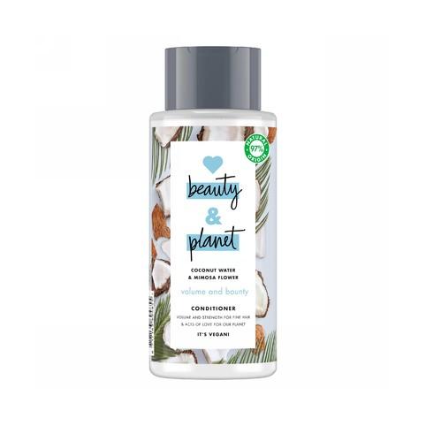 Love Beauty & Planet Volume & Bounty kondicionér na vlasy 400 ml