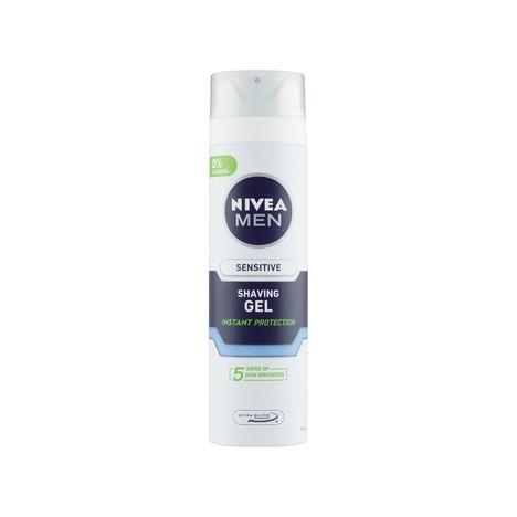 Nivea Men Sensitive gél na holenie 200 ml