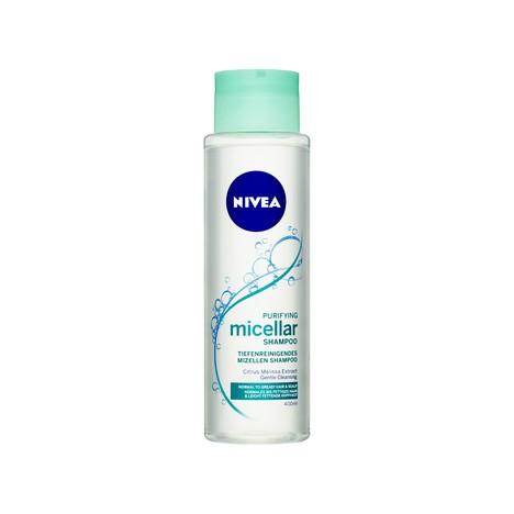 Nivea Purifying Micellar šampón na vlasy 400 ml