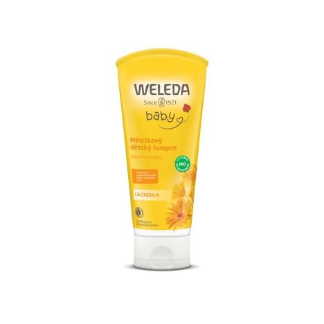 Weleda Baby Calendula detský sprchový gél a šampón 200 ml
