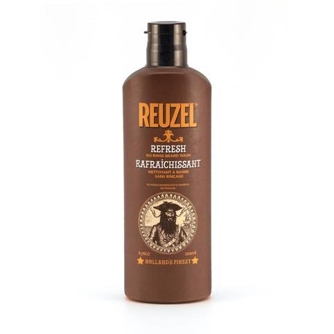 Reuzel Refresh No Rinse Beard Wash šampón na fúzy 200 ml