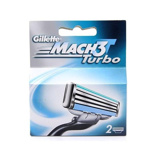 Gillette Mach3 Turbo náhradné hlavice 2 ks