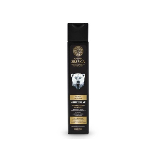 Natura Siberica For Men White Bear sprchový gél 250 ml