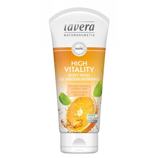Lavera High Vitality sprchový gél 200 ml