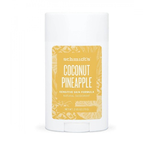Schmidt's Coconut + Pineapple tuhý dezodorant 58 ml