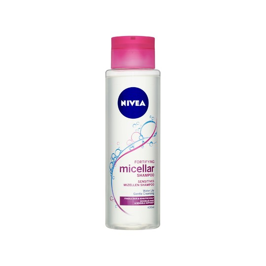 Nivea Fortifying Micellar šampón na vlasy 400 ml