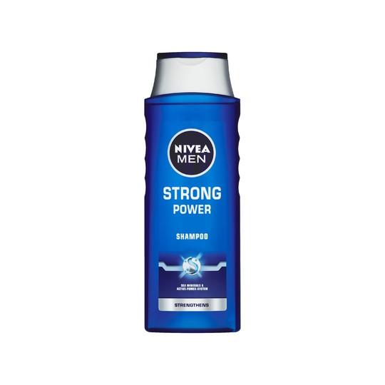 Nivea Men Strong Power šampón na vlasy 400 ml