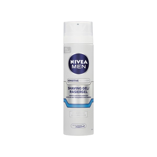 Nivea Men Sensitive Recovery gél na holenie 200 ml