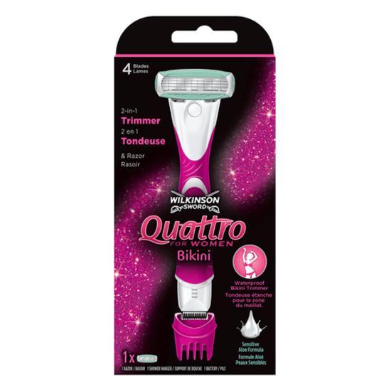 Wilkinson Quattro for Women Bikini holiaci strojček