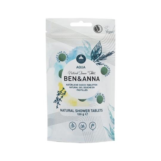 Ben&Anna Aqua sprchový gél v tabletách 24 ks