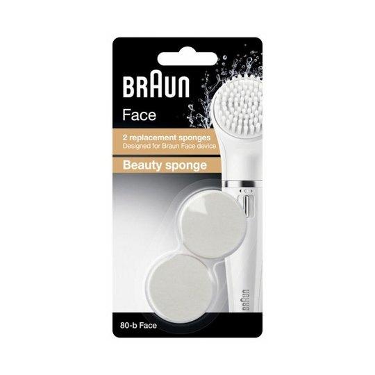Braun 80-b Face náhradná čistiaca hubka 2 ks