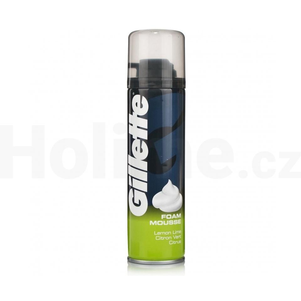 Gillette Citrus pena na holenie 200 ml